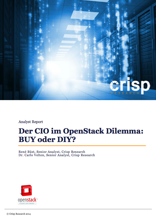 Analyst Report: CIO's OpenStack Dilemma – BUY or DIY?