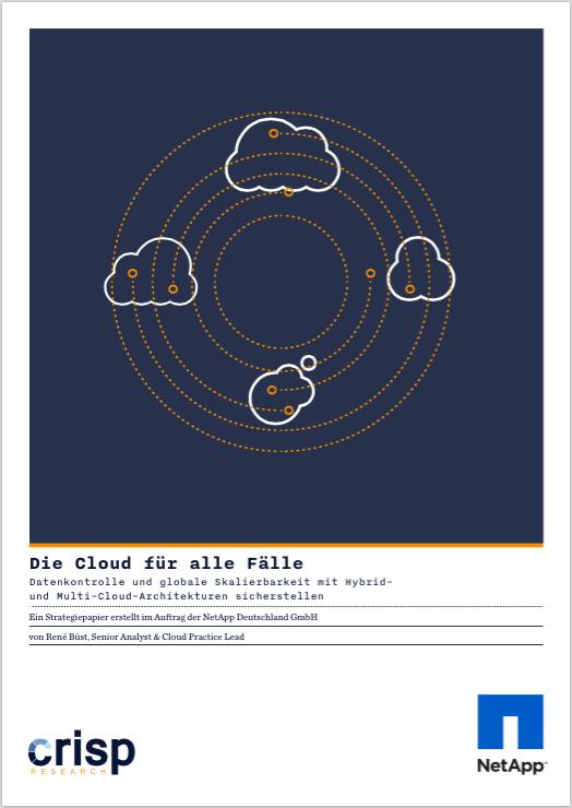 Analyst Strategy Paper: Datenkontrolle und globale Skalierbarkeit mit Hybrid- und Multi-Cloud-Architekturen sicherstellen