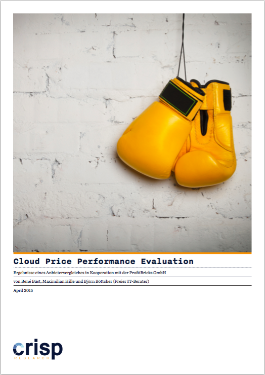 Analyst Studienreport: Cloud Price Performance Evaluation
