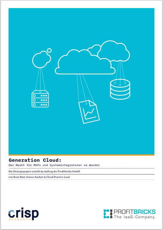 Analyst Strategy Paper: Generation Cloud – Der Markt für MSPs und Systemintegratoren im Wandel