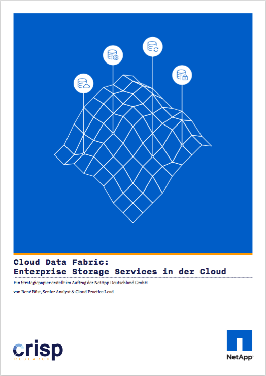 Analyst Strategy Paper: Cloud Data Fabric – Enterprise Storage Services in der Cloud