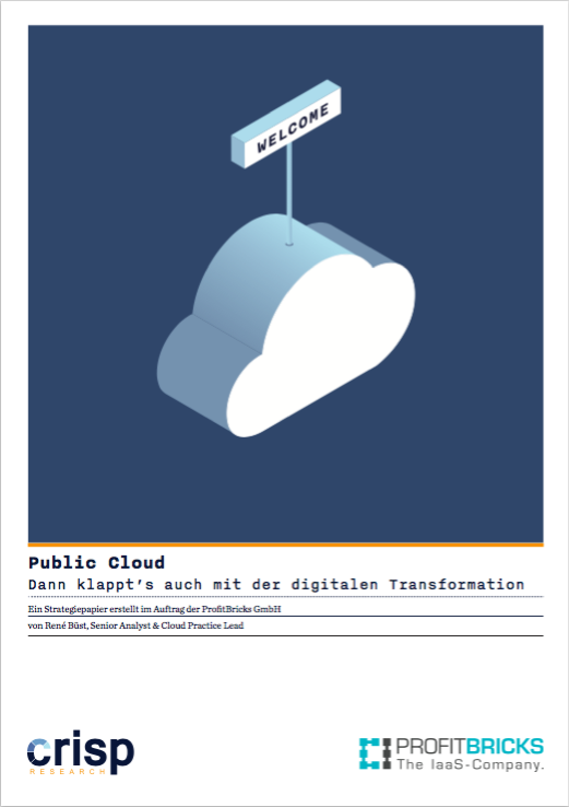 Analyst Strategy Paper: Public Cloud – Dann klappt´s auch mit der digitalen Transformation
