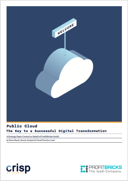 Analyst Strategy Paper: Public Cloud – The Key to a Successful Digital Transformation