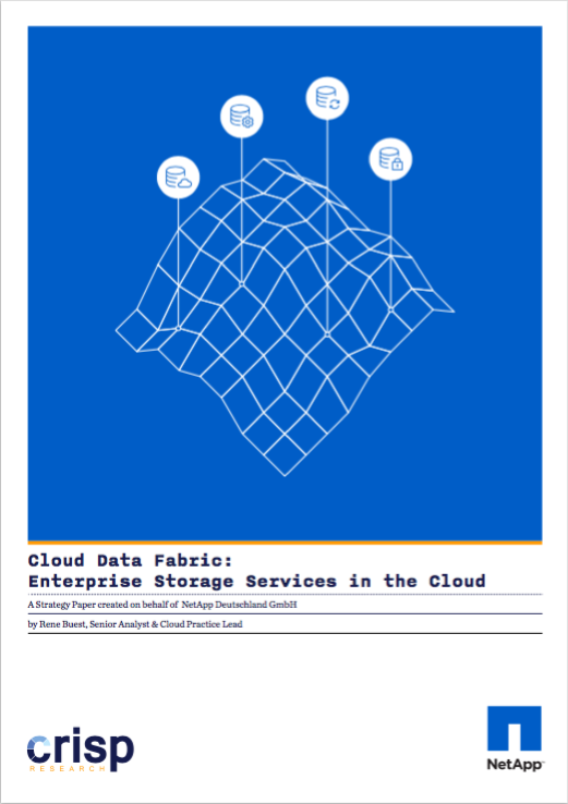 Analyst Strategy Paper: Cloud Data Fabric – Enterprise Storage Services in the Cloud