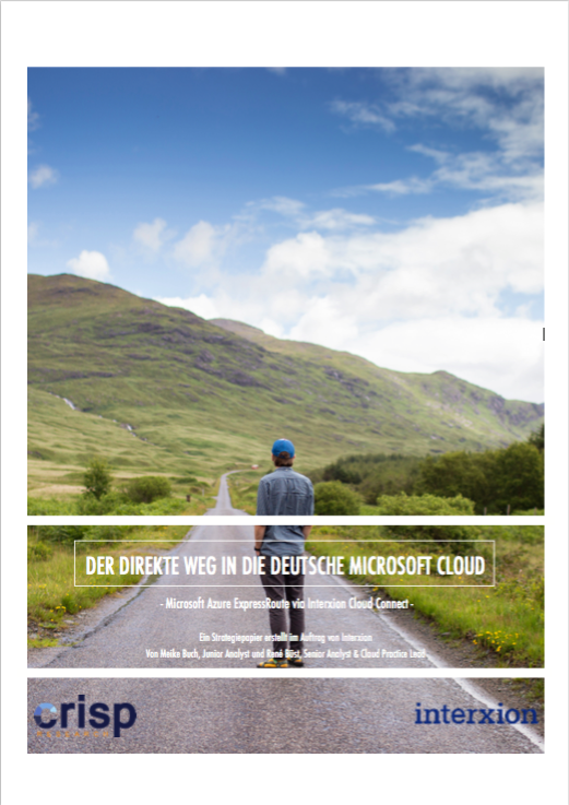 Analyst Strategy Paper: Der direkte Weg in die deutsche Microsoft Cloud