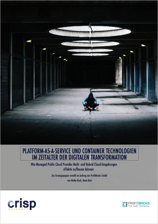 Analyst Strategy Paper: Platform-as-a-Service und Container Technologien im Zeitalter der Digitalen Transformation