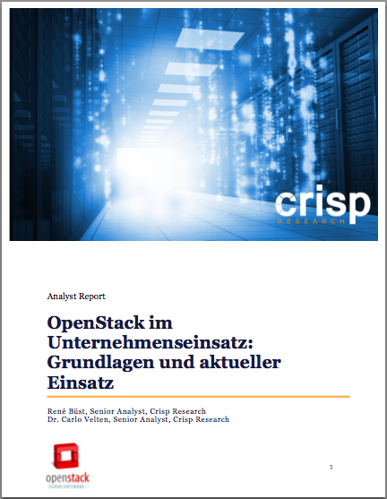 Analyst Report: OpenStack and the Enterprise adoption