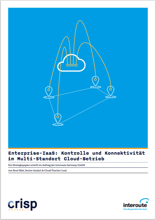 Analyst Strategy Paper: Enterprise Infrastructure-as-a-Service