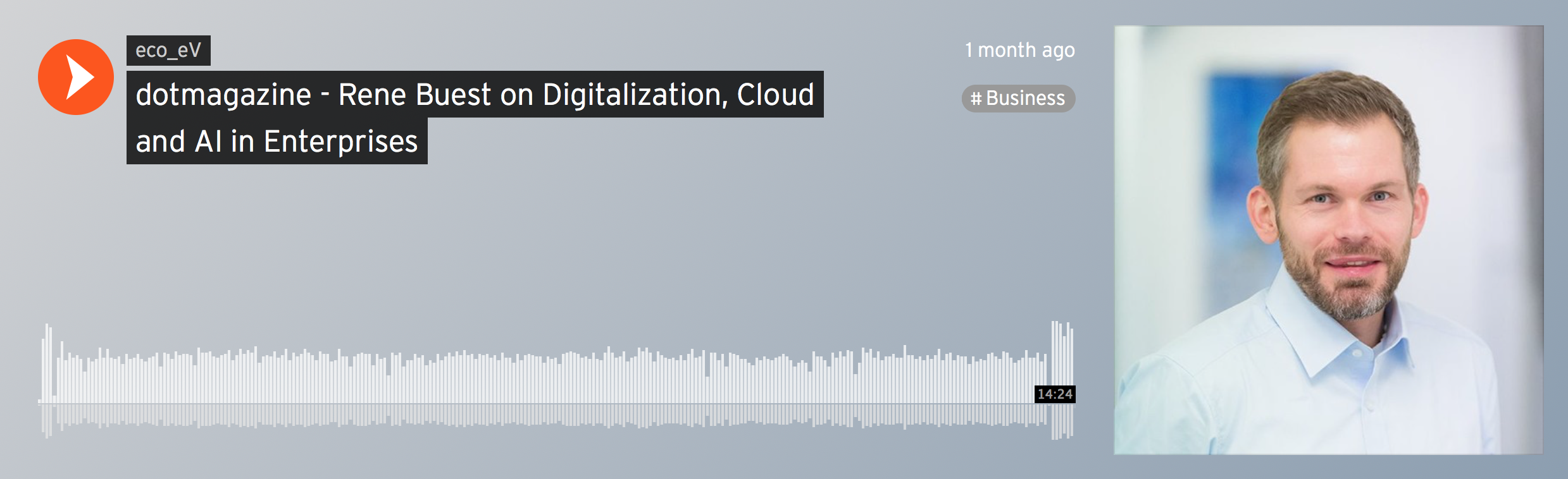 dotmagazine Podcast: The Magic Triangle – Digitization, Cloud and AI in Enterprises